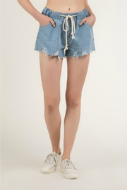 R+D Hipster Emporium  Terry Rope Short - Back cropped