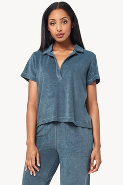 Lilla P Terry Short Sleeve Polo - Product List Image