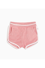 Miles Baby Terry Shortie - Melon - Front cropped