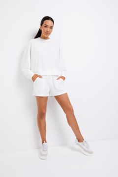 Shoptiques Product: Terry Towel Sweater