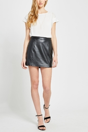 Gentle Fawn Tesoro Vegan Leather Skirt - Product Mini Image