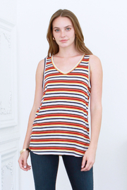 another love  Tess V-Neck Striped Tank - Product Mini Image