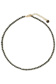 Shoptiques Product: Black Faceted Choker