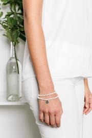 Tess + Tricia Double-Wrap Bracelet - Front full body