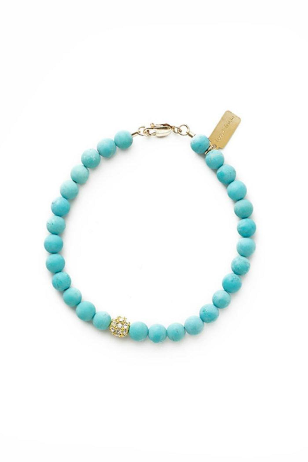 Tess + Tricia Turquoise Accent Bracelet - Main Image