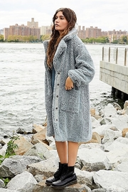 Free People Tessa Teddy Cardigan Coat - Product Mini Image