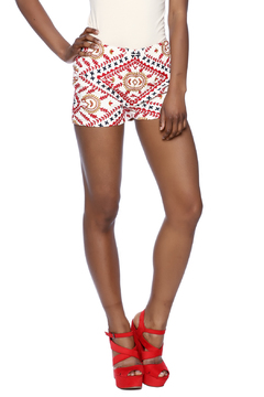 Tessora Embroidered Shorts - Product List Image