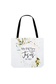 The Birds Nest TEST THE JESUS IN ME TOTE - Product Mini Image