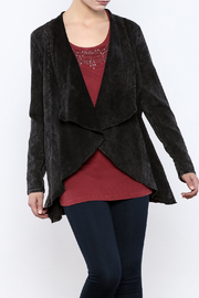 Testimony Fitted Knit Victoria Jacket - Front cropped