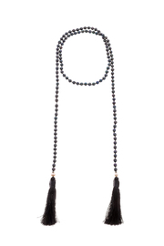 Texas Beach Boutique Black Pearl Lariat - Product Mini Image