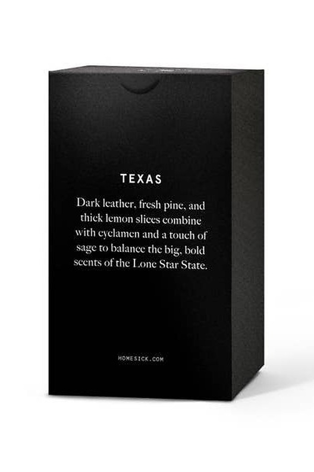 HOMESICK Texas Candle - Front Full Image