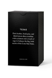 HOMESICK Texas Candle - Front full body