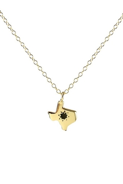 Kris Nations Texas Charm Necklace with Stone - Alternate List Image