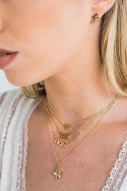 BRENDA GRANDS JEWELRY Texas Hammered Necklace - Product Mini Image
