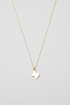 BRENDA GRANDS JEWELRY Texas Hammered Necklace - Alternate List Image