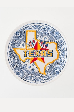 One Hundred 80 Degrees Texas Melamine Dinner-Plate-Set - Alternate List Image