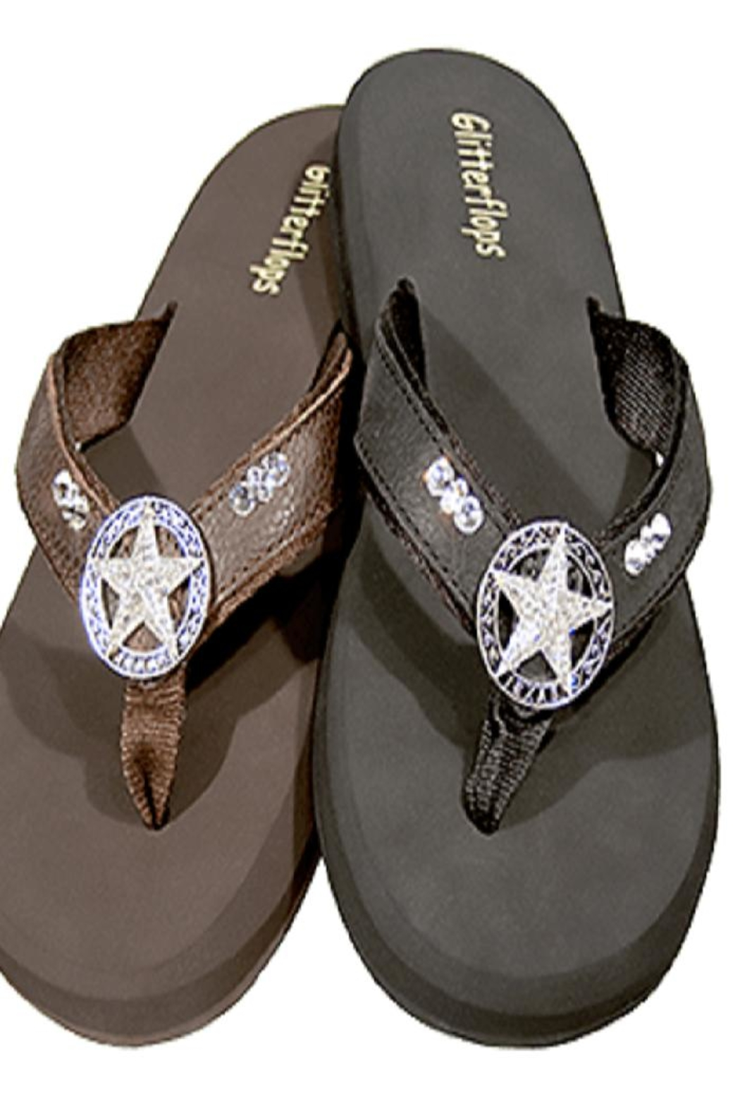 a0e6eade9 Glitterflops Texas Star Flipflops from Texas by Rock2Royal Boutique ...
