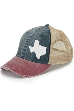Shoptiques Product: Texas State Pride Hat