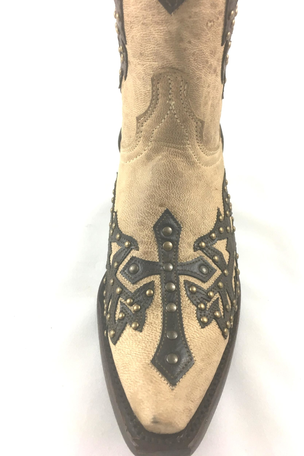 Texas Outlaw Boot & Fashion Crosswing Freedom - Side Cropped Image