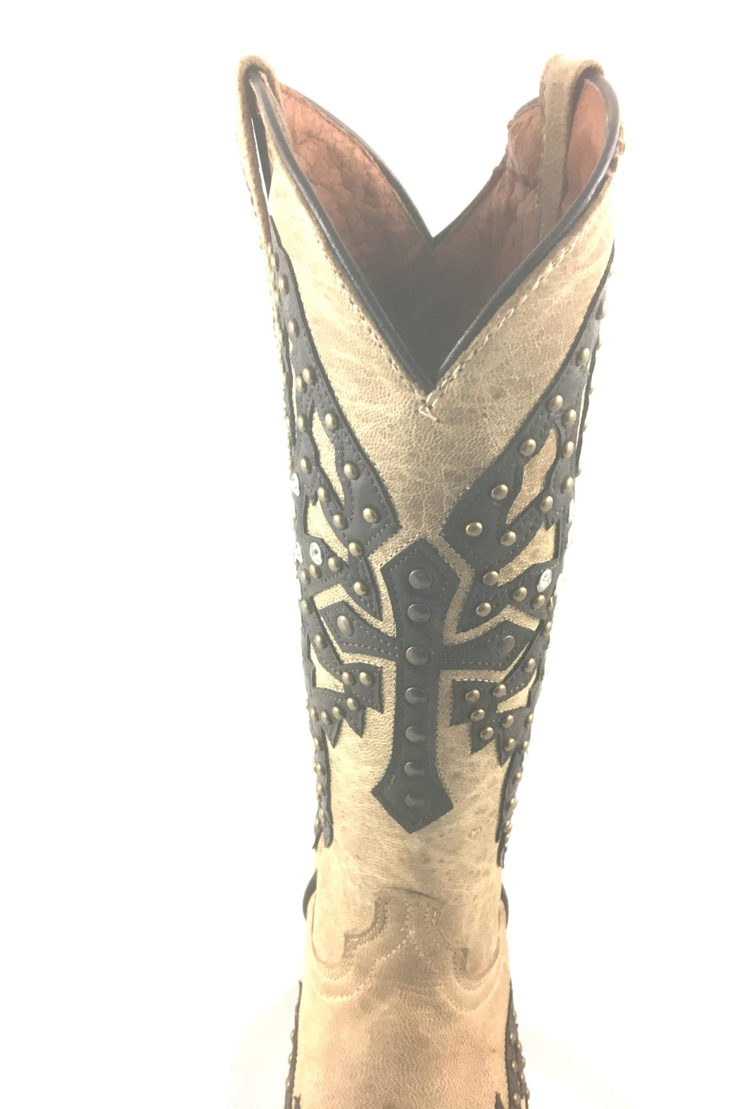 Texas Outlaw Boot & Fashion Crosswing Freedom - Back Cropped Image