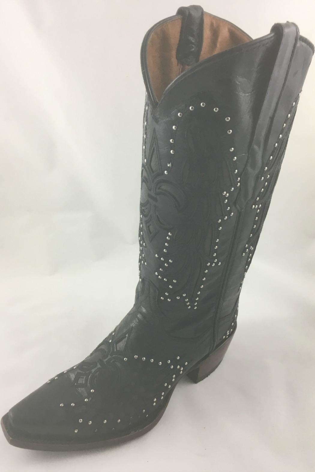 Texas Outlaw Boot & Fashion Fluer De Lis - Main Image