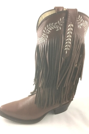 Texas Outlaw Boot & Fashion Fringe Love - Front cropped