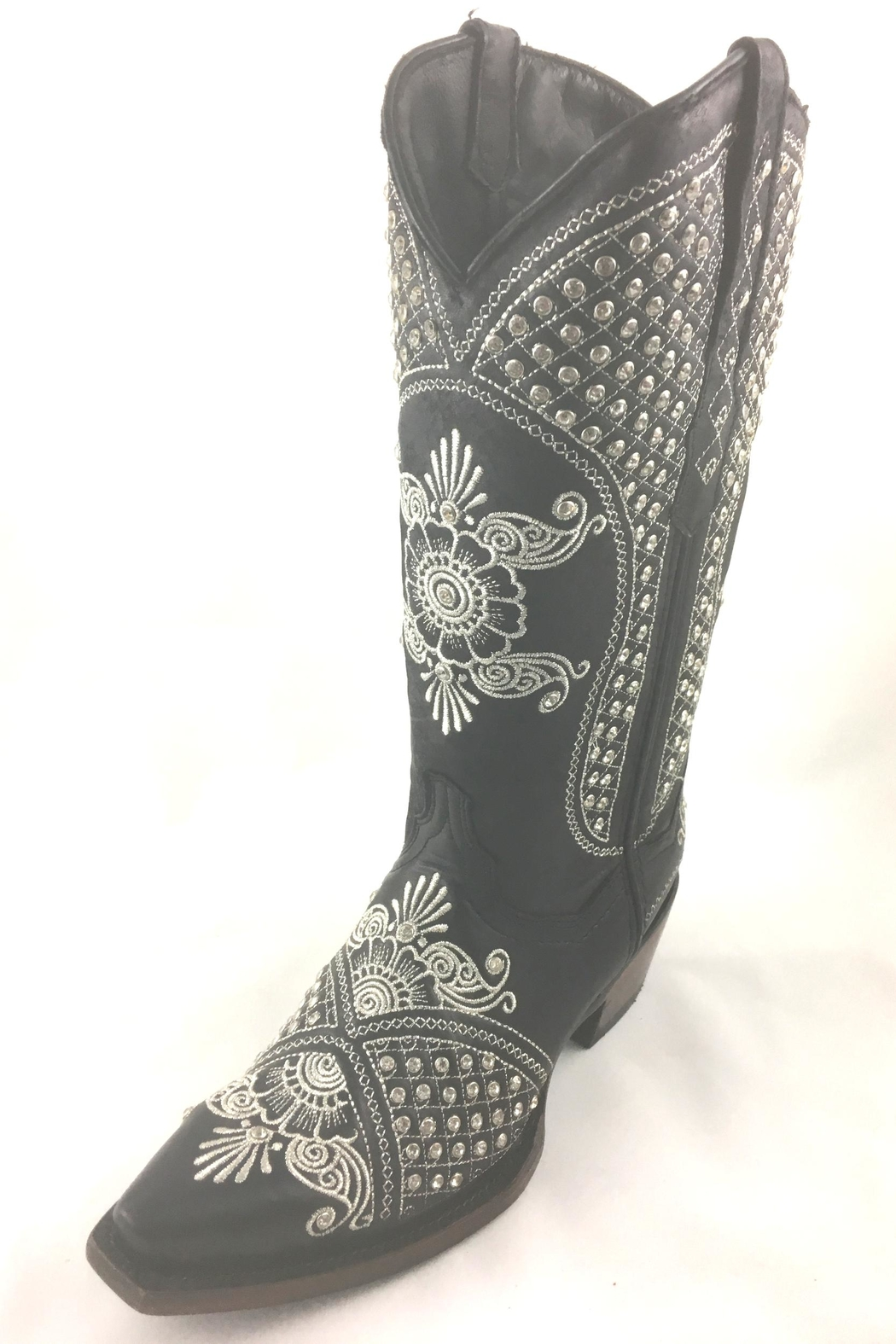 Texas Outlaw Boot & Fashion The Rhinestone Boot - Main Image