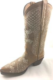 Texas Outlaw Boot & Fashion The Rhinestone Boot - Front cropped
