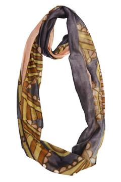 Shoptiques Product: Silk Infinity Scarf