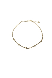 Lets Accessorize Texture Bead Choker - Product Mini Image
