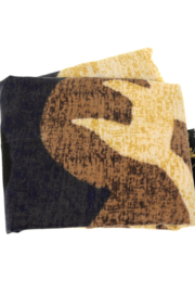 Joy Susan  Textured Abstract Scarf - Front full body