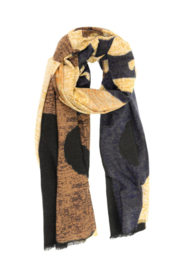 Joy Susan  Textured Abstract Scarf - Front cropped