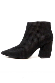 Jeffrey Campbell Textured Black Booties - Product Mini Image
