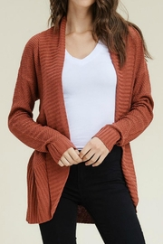 Staccato Textured Cocoon Cardigan - Product Mini Image