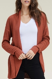 LuLu's Boutique Textured Cocoon Cardigan - Product Mini Image