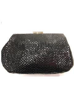 Sondra Roberts Textured Evening Bag With Circle Detail - Alternate List Image