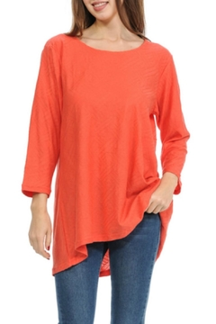 Shoptiques Product: Textured Flare Top