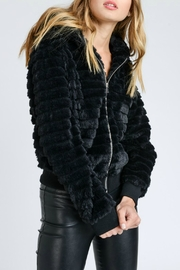 Lovetree Textured Fur Jacket - Side cropped