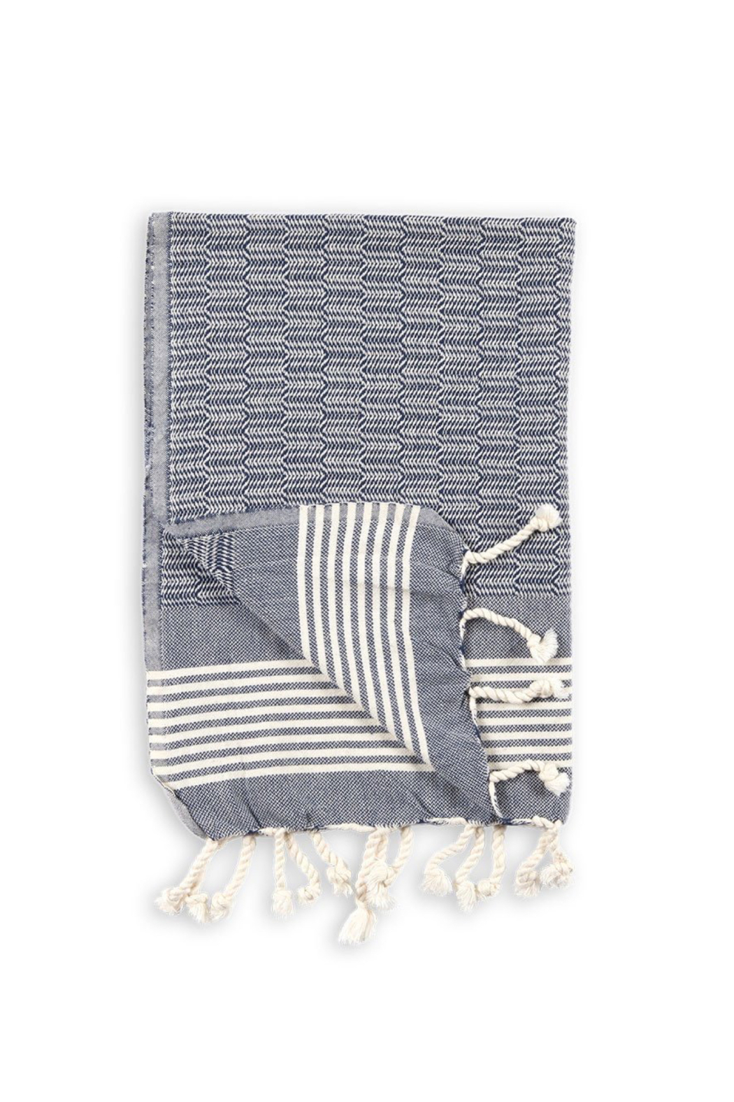 Pokoloko TEXTURED HAND TOWEL - Front Cropped Image