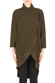 Joseph Ribkoff Textured Knit Tunic - Product Mini Image