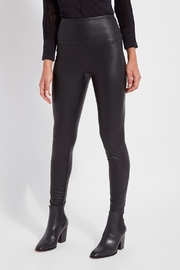 Lysse Textured Leather Leggings - Product Mini Image
