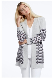 Nic&zoe Textured long-sleeve cardigan - Product Mini Image