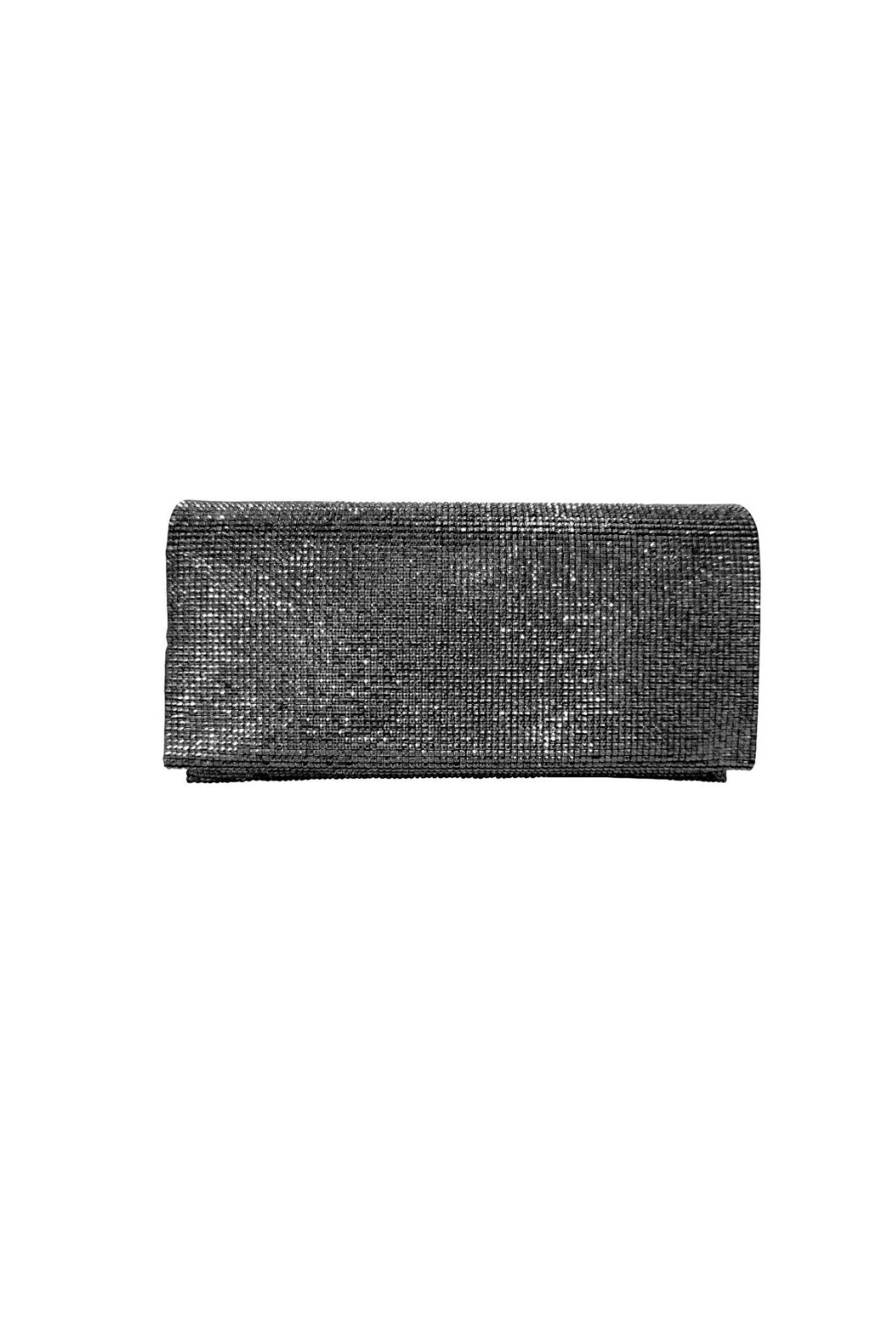 Sondra Roberts Textured Metallic Evening Clutch - Main Image