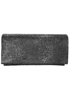Sondra Roberts Textured Metallic Evening Clutch - Alternate List Image