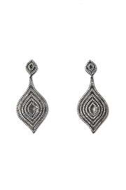 Lets Accessorize Textured Moroccan Earrings - Product Mini Image