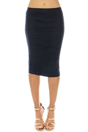 Amazing Grace Textured Pencil Skirt - Product Mini Image