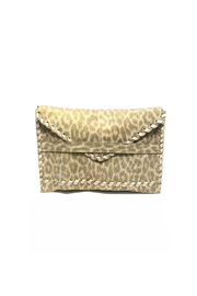 laggo  Textured Polka Clutch - Front cropped