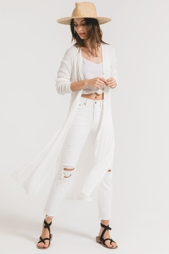 z supply Textured Rib Duster Cardigan - Product List Image