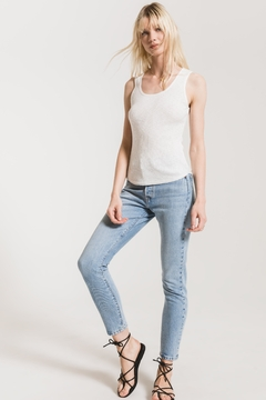 Z Supply  Textured Rib Fitted Tank - Alternate List Image