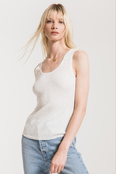 Z Supply  Textured Rib Fitted Tank - Product List Image